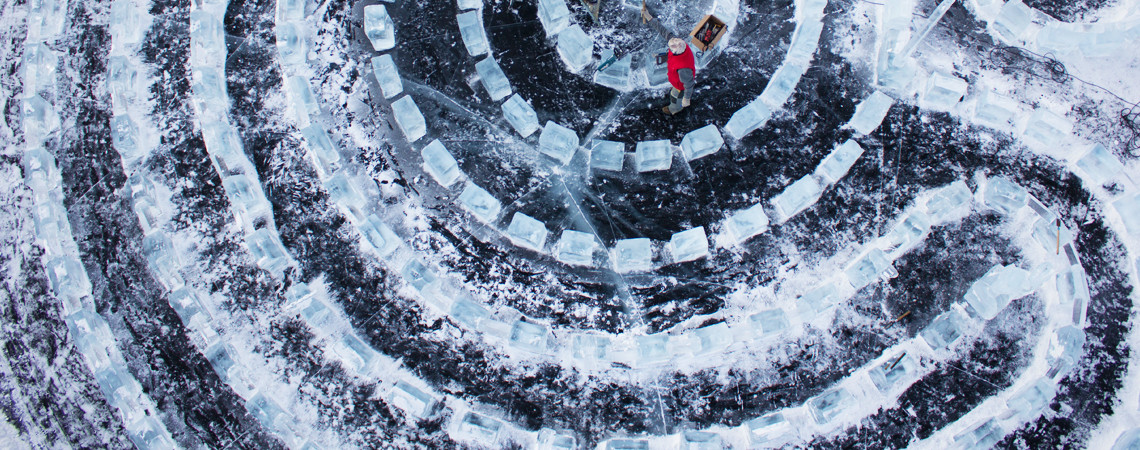 Лед. Лабиринт. Байкал